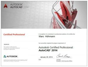 Autocad 2015 Zertifikation