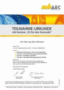 Fit für den Eurocode